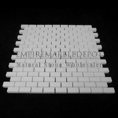 Bianco Dolomiti Marble Italian White Dolomite Mini Brick